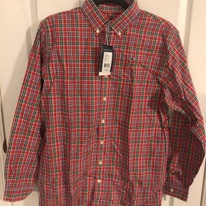 Vineyard Vines Boys Plaid Shirt